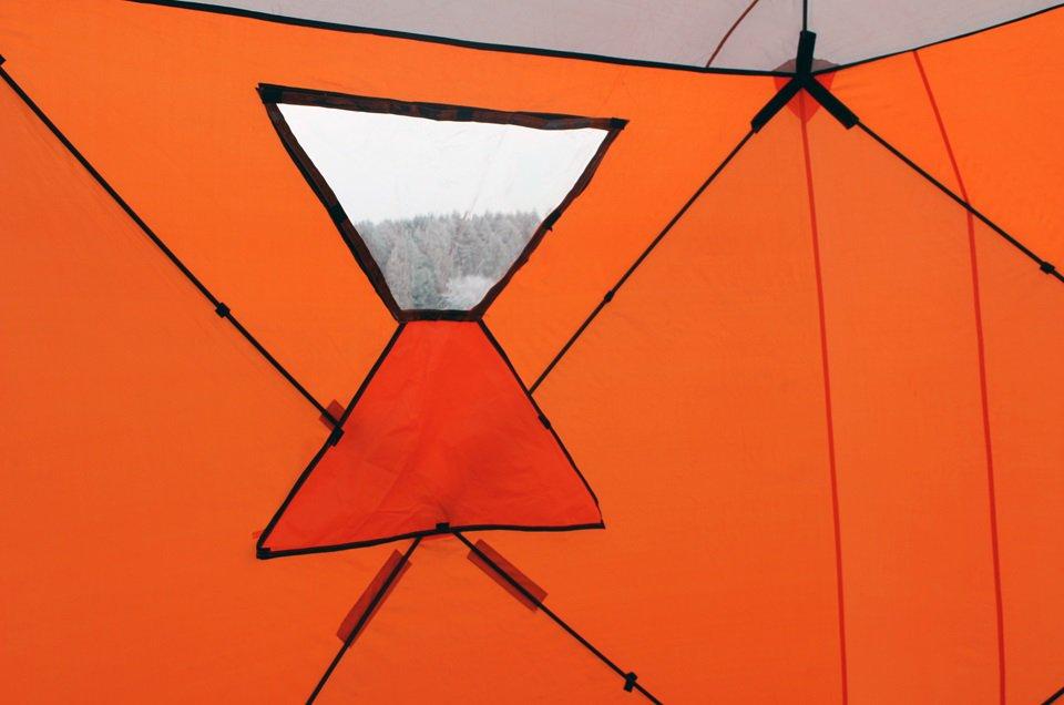 палатка для зимней рыбалки медведь 3 местная