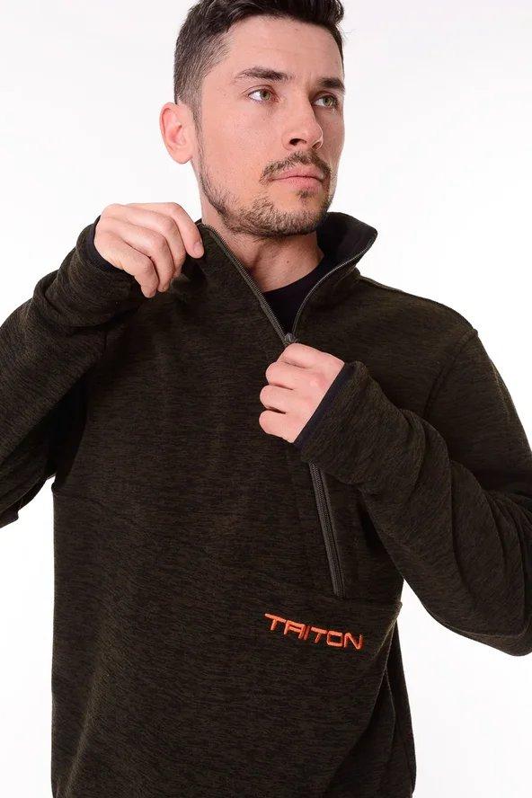 c0e42e0f Толстовка Тритон Shooter Зеленый - купить за 1990 руб в интернет ...