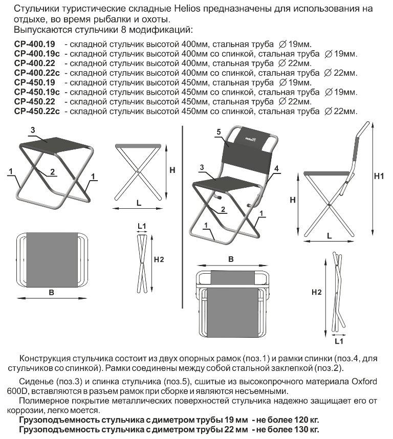 Складной стул для рыбалки своими руками чертежи из трубы
