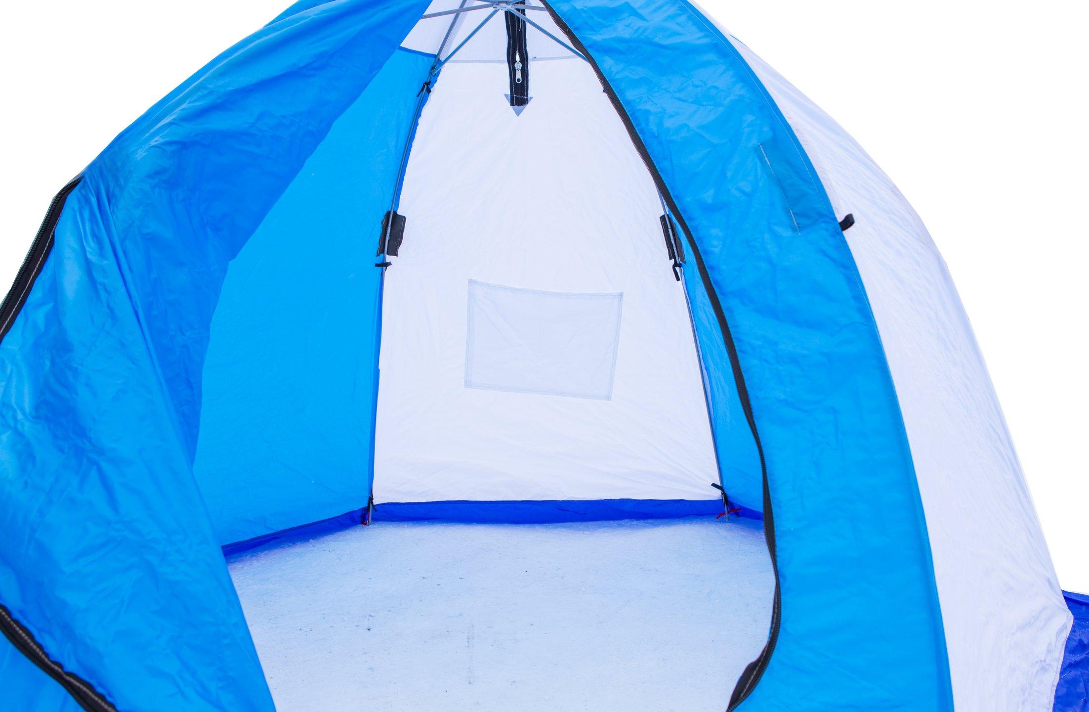 палатка для зимней рыбалки 2 местная