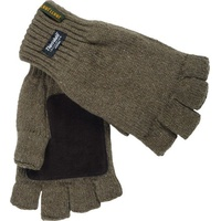 Перчатки JahtiJakt Half Finger Gloves green