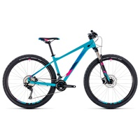 Велосипед Cube Access WS SL 27.5 (2018) blue´n´raspberry