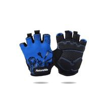 Перчатки Naturehike Outdoor Half Finger Cycling Gloves синий