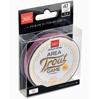 Леска плетёная Lucky John Area Trout Game Braid Pink 075/007