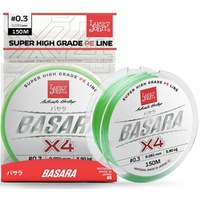 Леска плетёная Lucky John Basara Light Green 150/015