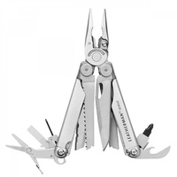 Мультитул Leatherman Wave Plus стальной