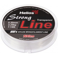 Леска Helios Strong Line Nylon Transparent 0,20мм/100