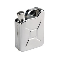 Фляга-канистра AceCamp S/S Flask Gas Can Shape 5OZ