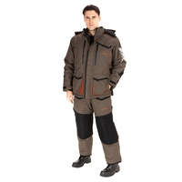 Костюм Huntsman Siberia (Breathable) Хаки/Чёрный